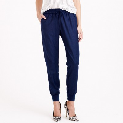 Jcrew Drapey Wool Sweatpant