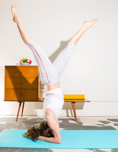 This yoga body decided to see what happens when taken off the yoga mat, and into another fitness class. The results; yoga is a solid full body exercise. Photo: Here With You Photography / Props: yellow house collective